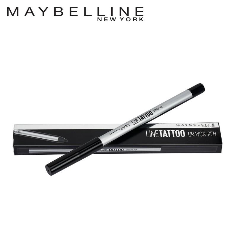 Maybelline New York Line Tattoo Crayon Liner Pen Black