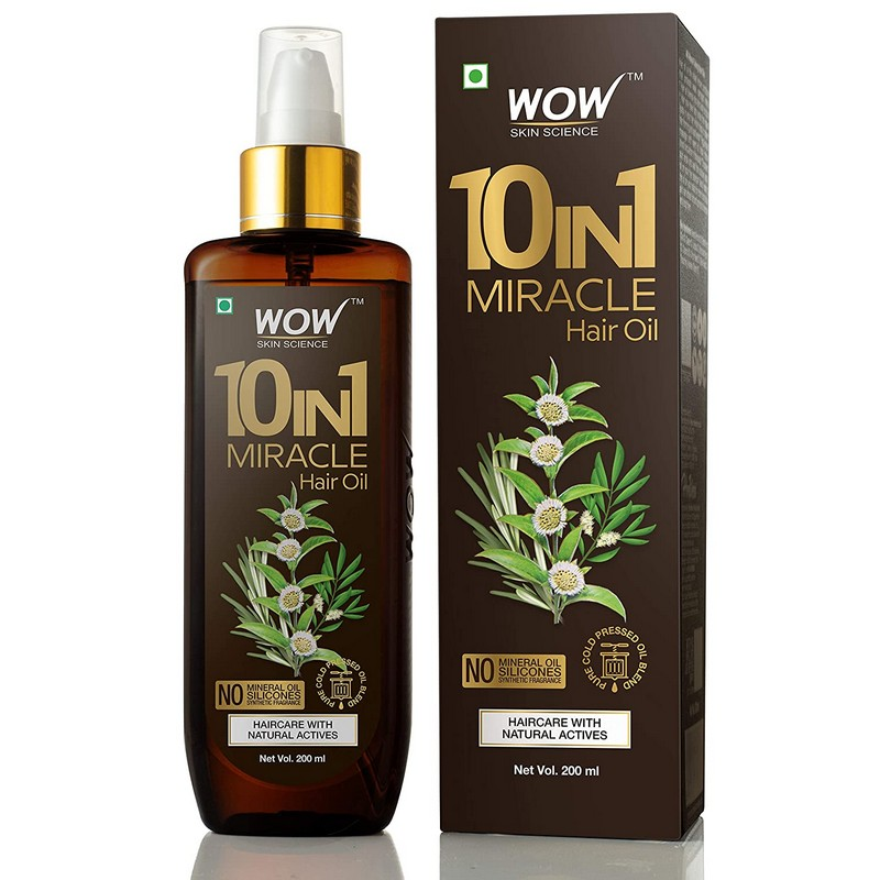 WOW Skin Science 10-in-1 Active Miracle Hair Oil 200ml