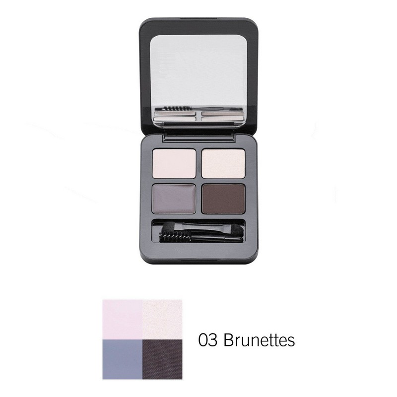 Note Total Look Brow Kit 03 Brunettes