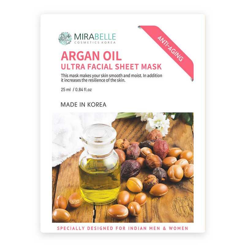 Mirabelle Korea Ultra Sheet Mask Argan Oil