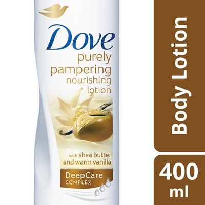 Dove Purely Pampering Nourishment Body Lotion With Shea Butter 400ml