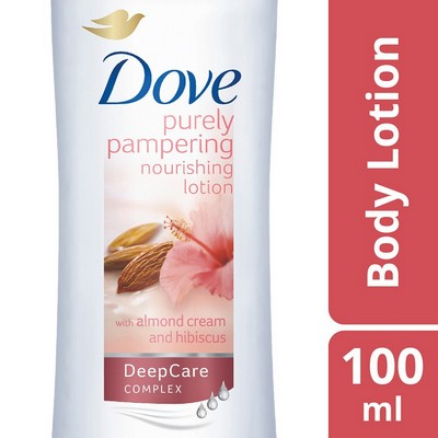 Dove Purely Pampering With Almond Cream & Hibiscus Body Lotion 100ml