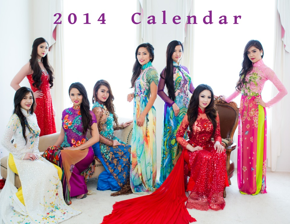 Hoa Hau Ao Dai Bac Cali 2014 - Calendar Photoshoot ll - Image 001
