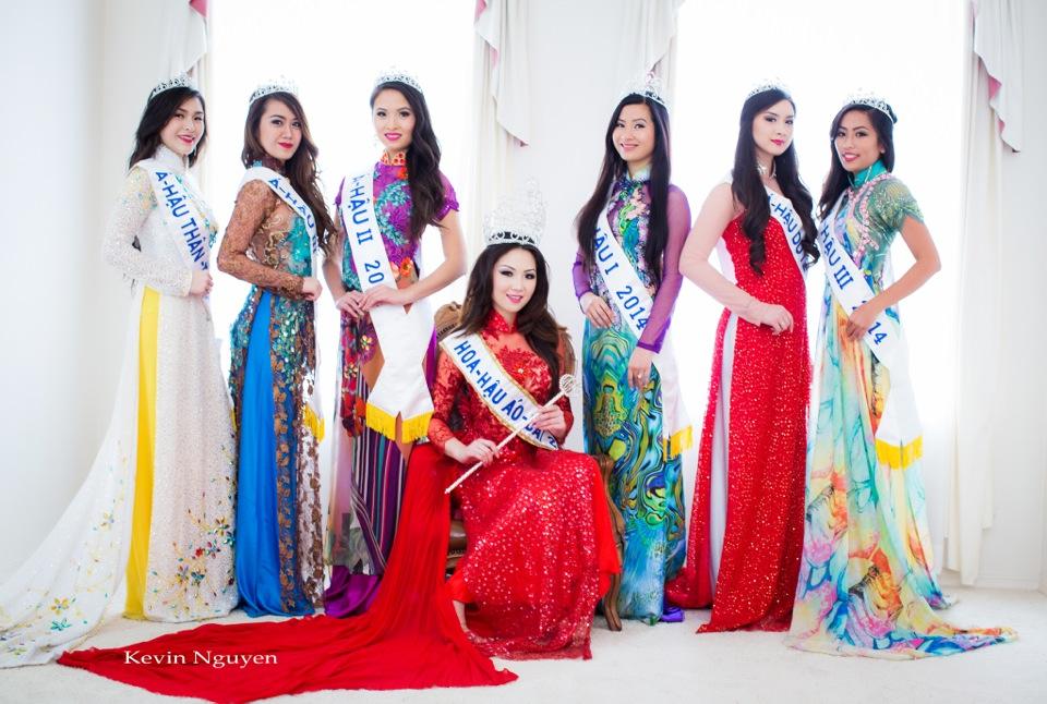 Hoa Hau Ao Dai Bac Cali 2014 - Calendar Photoshoot ll - Image 004