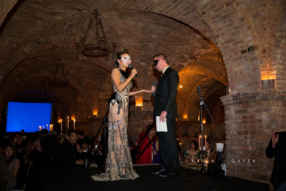 Fundraising for charity at Castello Di Amarosa, Napa Valley - Image 120