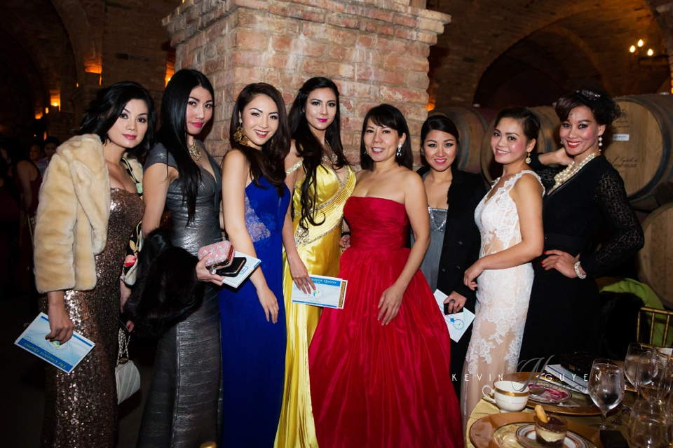 Fundraising for charity at Castello Di Amarosa, Napa Valley - Image 128