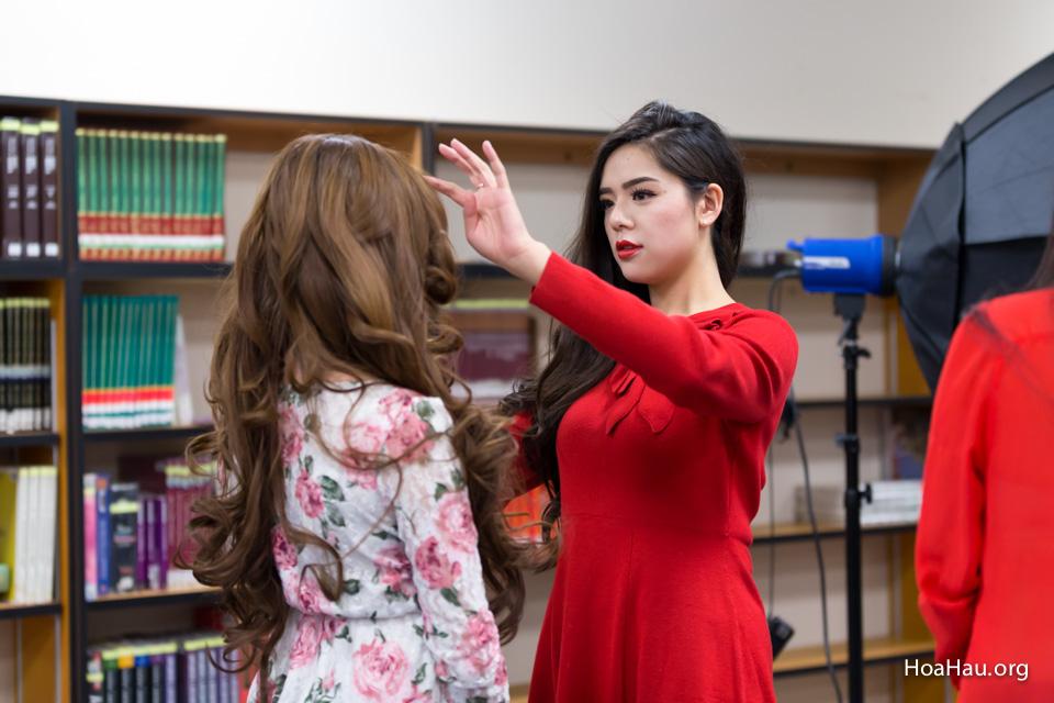 Miss Vietnam California 2016 - Contestant Practice 12-20-2015 - Image 112