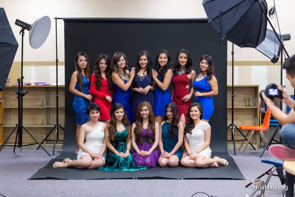 Miss Vietnam California 2016 - Contestant Practice 12-20-2015 - Image 125