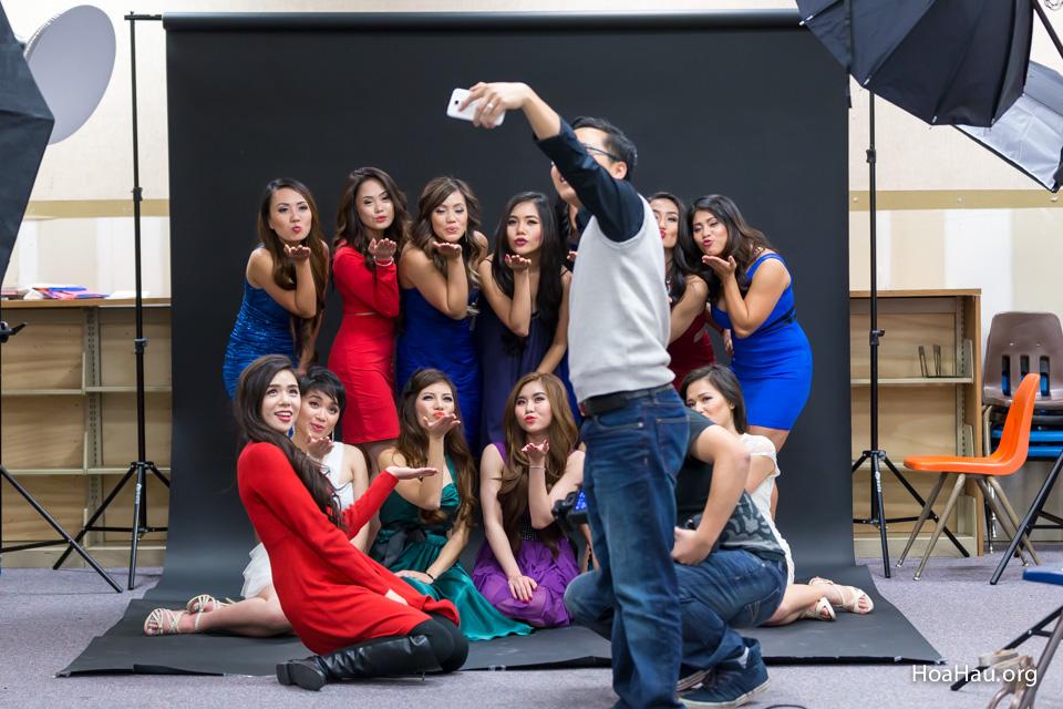 Miss Vietnam California 2016 - Contestant Practice 12-20-2015 - Image 126