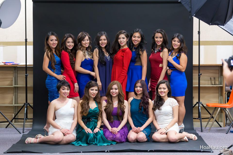 Miss Vietnam California 2016 - Contestant Practice 12-20-2015 - Image 127