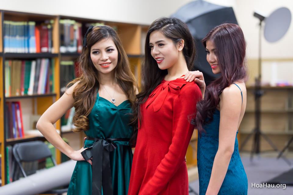 Miss Vietnam California 2016 - Contestant Practice 12-20-2015 - Image 130