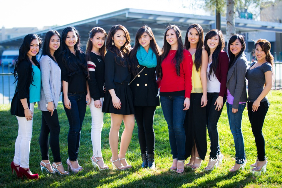 Contestant Rehearsal 01-05-2014 - Miss Vietnam of Northern California - Image 100