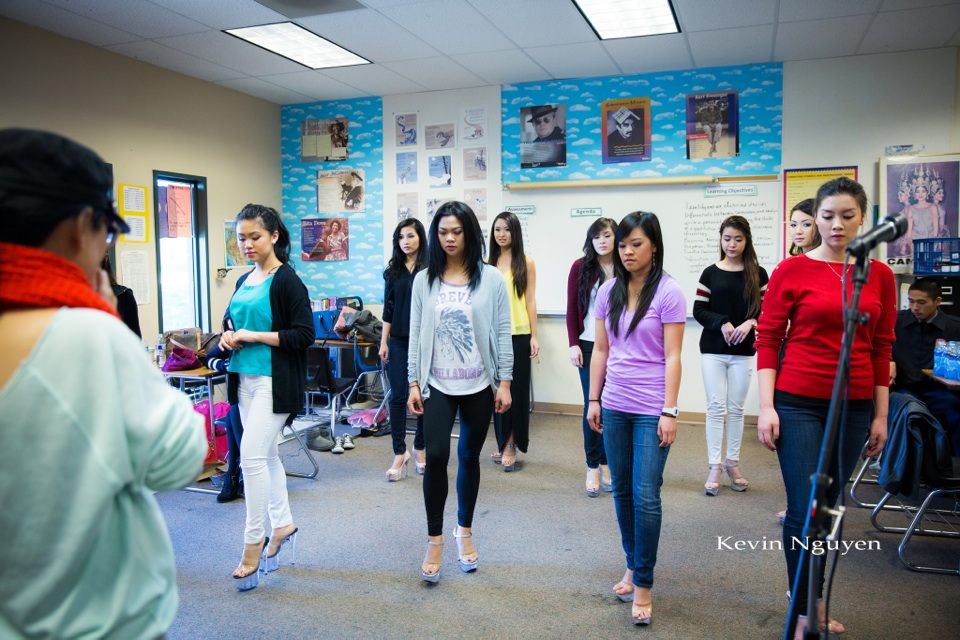 Contestant Rehearsal 01-05-2014 - Miss Vietnam of Northern California - Image 126