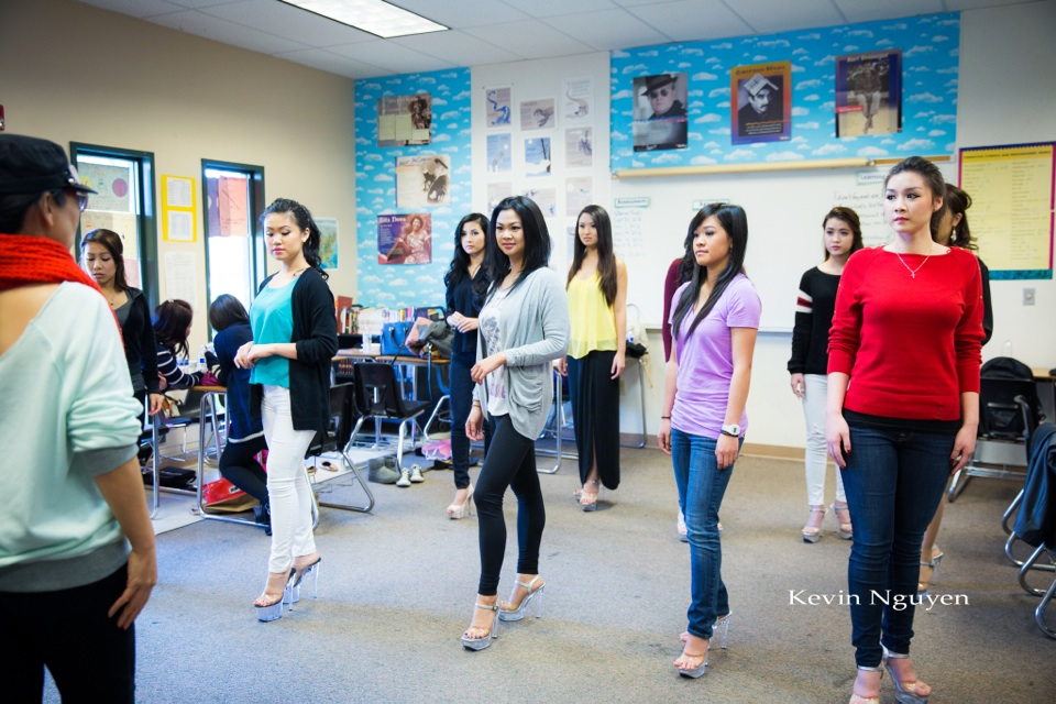 Contestant Rehearsal 01-05-2014 - Miss Vietnam of Northern California - Image 127