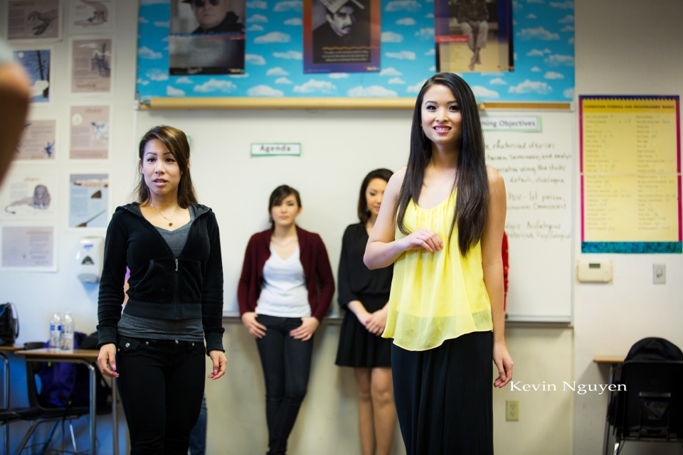 Contestant Rehearsal 01-05-2014 - Miss Vietnam of Northern California - Image 136