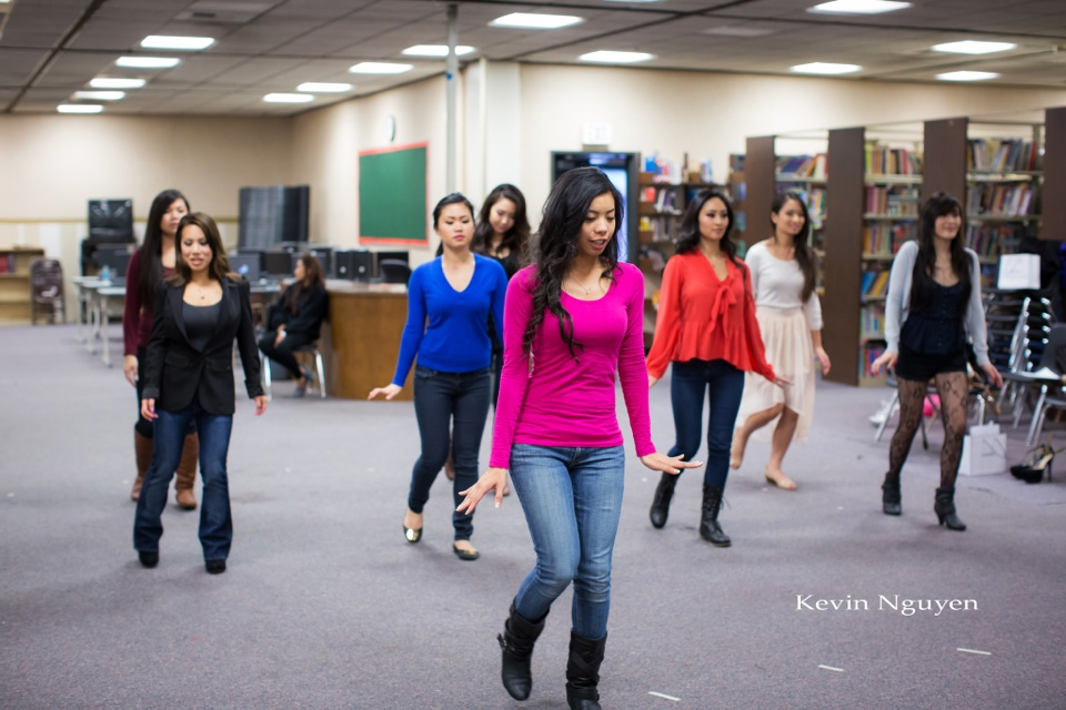 Contestant Rehearsal 01-11-2014 - Miss Vietnam of Northern California - Image 130