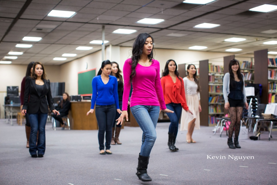 Contestant Rehearsal 01-11-2014 - Miss Vietnam of Northern California - Image 131