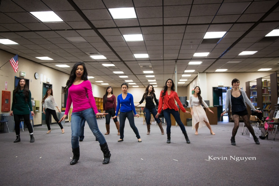 Contestant Rehearsal 01-11-2014 - Miss Vietnam of Northern California - Image 133