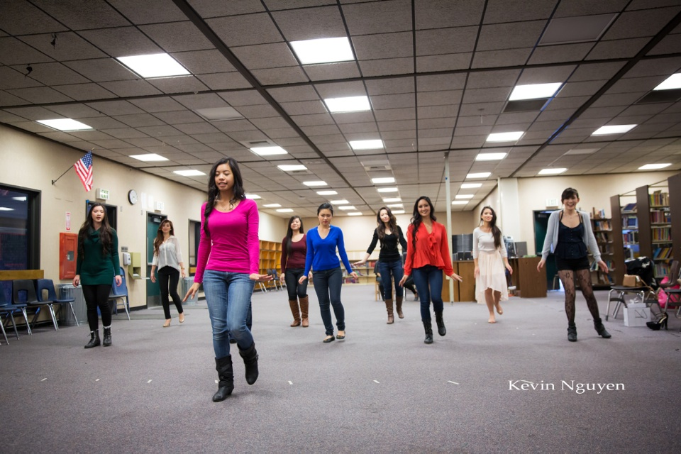 Contestant Rehearsal 01-11-2014 - Miss Vietnam of Northern California - Image 134