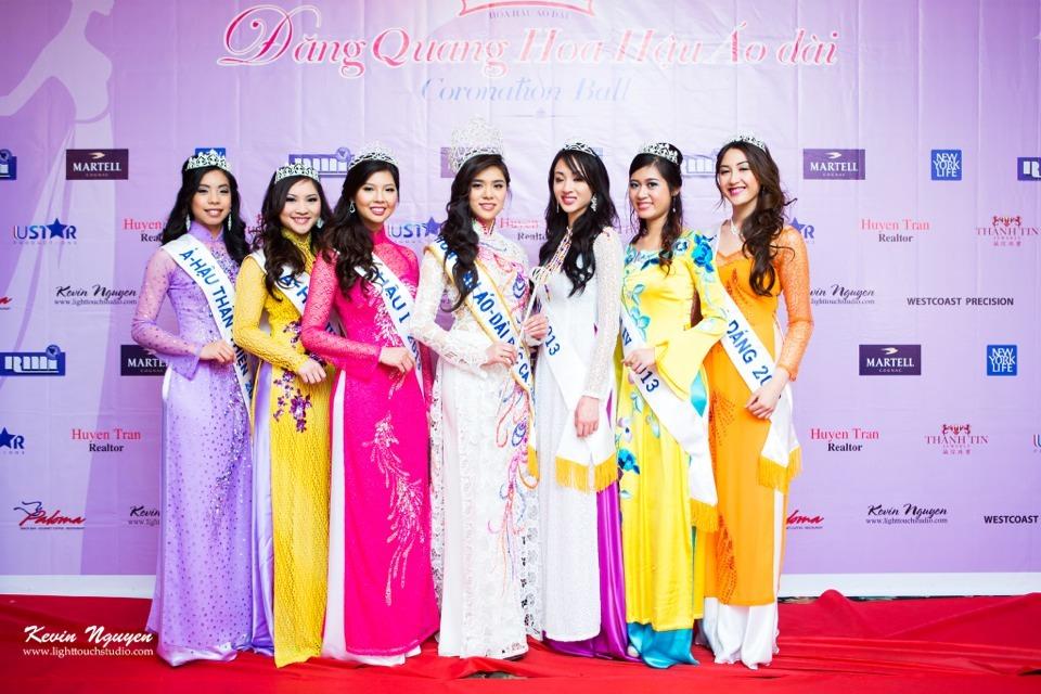 Coronation 2013 - Hoa Hau Ao Dai Bac Cali - Image 004
