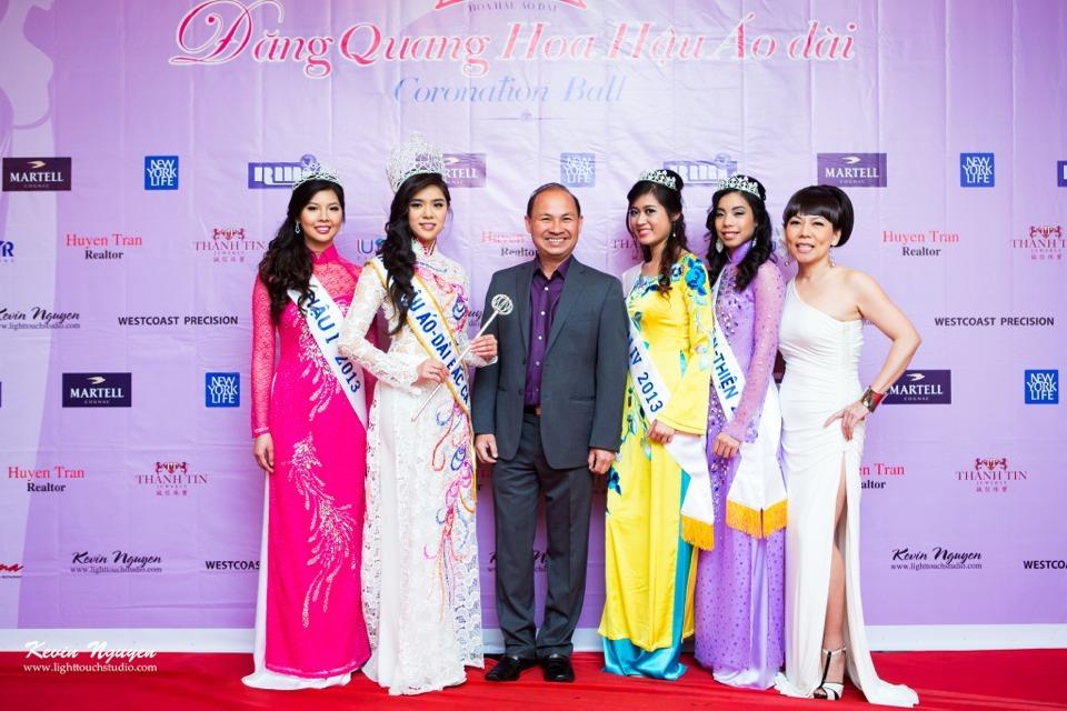 Coronation 2013 - Hoa Hau Ao Dai Bac Cali - Image 016