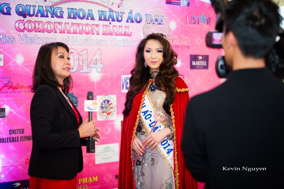 Coronation of Miss Vietnam of Northern California 2014 and Court - Image 018