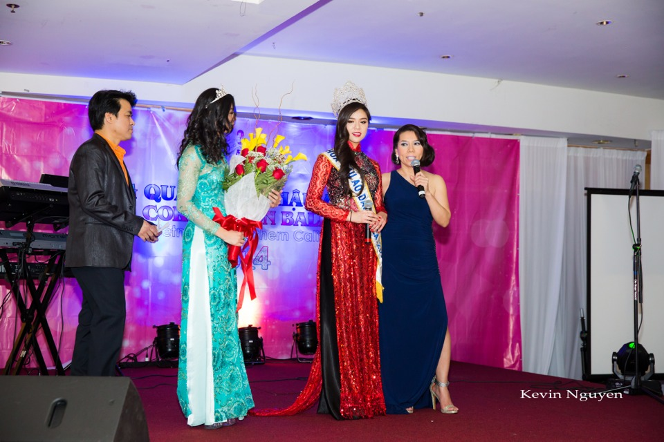 Coronation of Miss Vietnam of Northern California 2014 and Court - Image 027