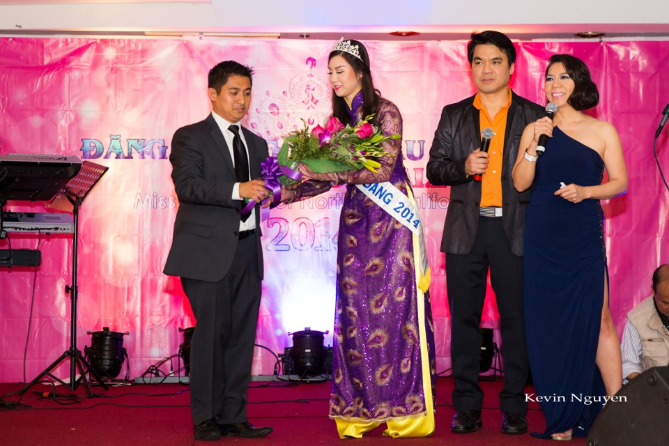Coronation of Miss Vietnam of Northern California 2014 and Court - Image 030