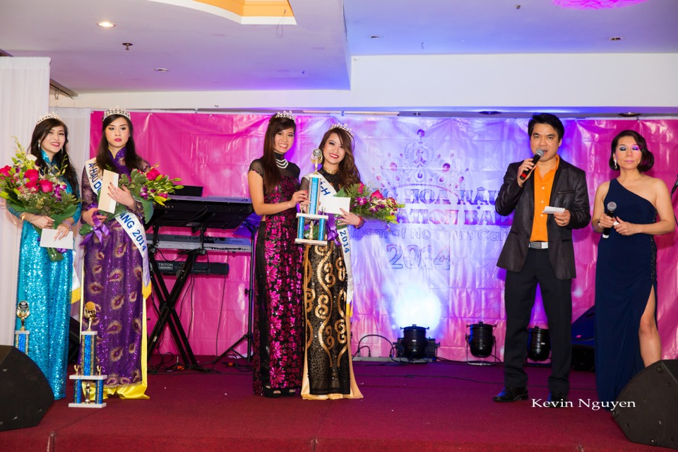 Coronation of Miss Vietnam of Northern California 2014 and Court - Image 034