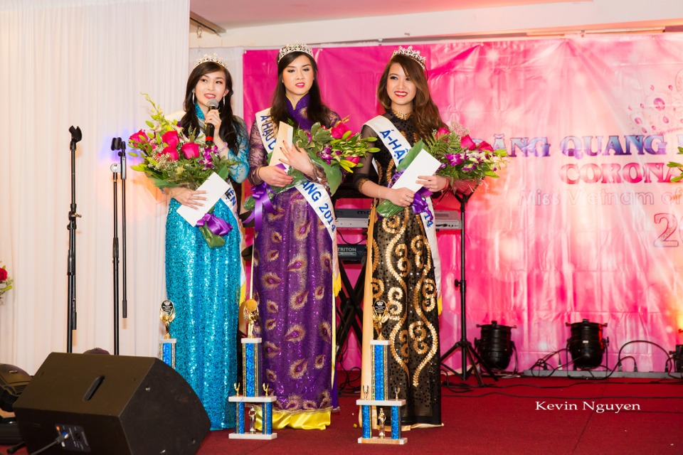 Coronation of Miss Vietnam of Northern California 2014 and Court - Image 038