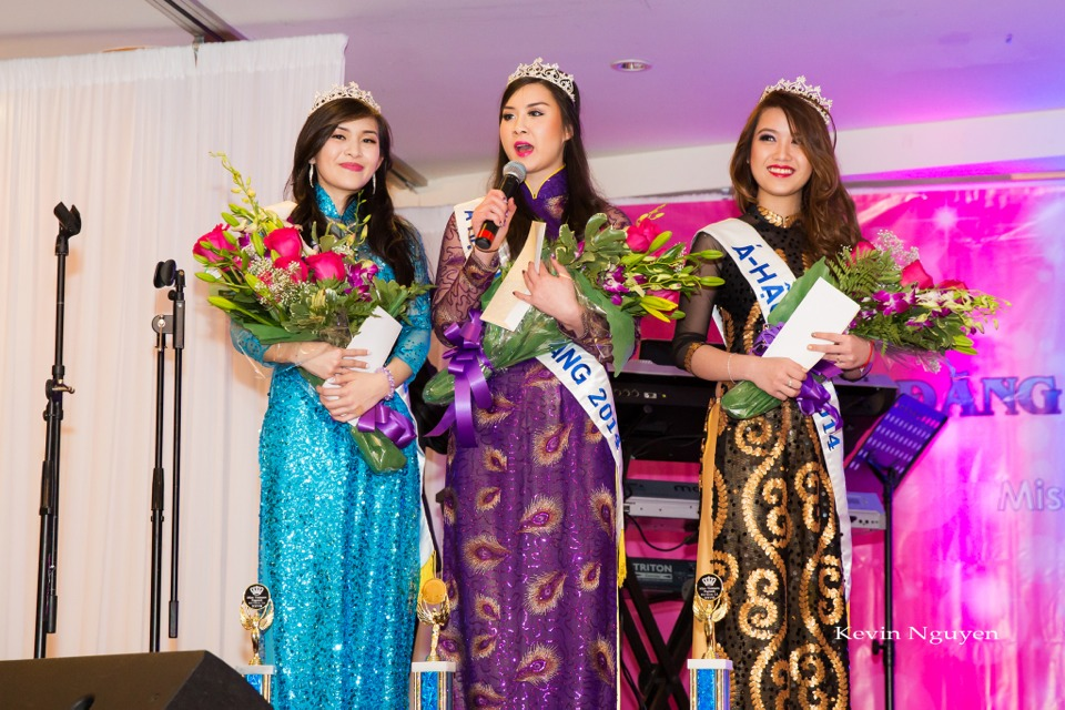 Coronation of Miss Vietnam of Northern California 2014 and Court - Image 039