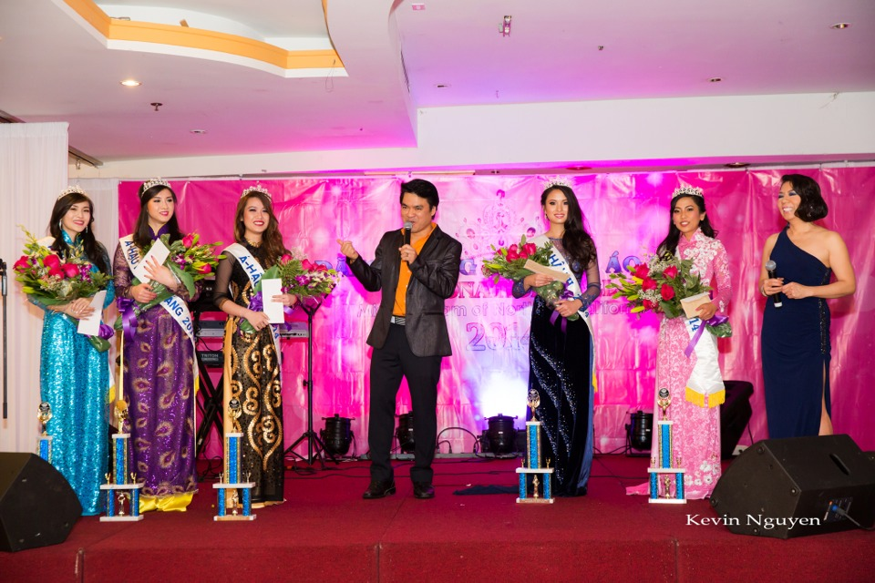 Coronation of Miss Vietnam of Northern California 2014 and Court - Image 043
