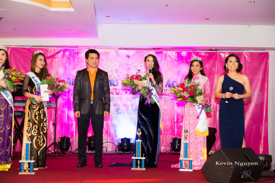 Coronation of Miss Vietnam of Northern California 2014 and Court - Image 045