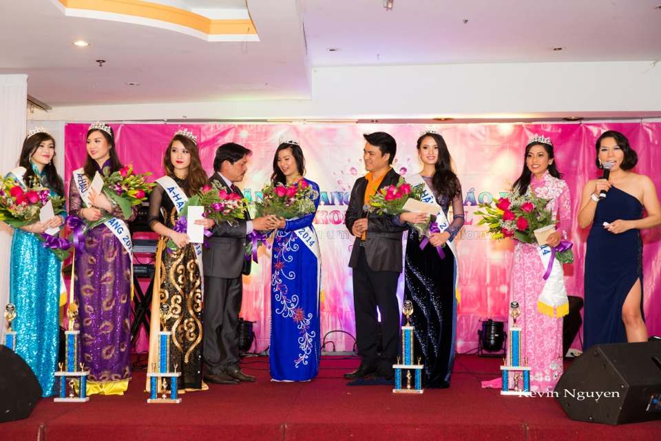 Coronation of Miss Vietnam of Northern California 2014 and Court - Image 046