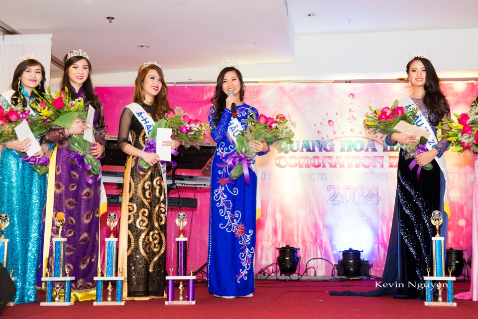 Coronation of Miss Vietnam of Northern California 2014 and Court - Image 049