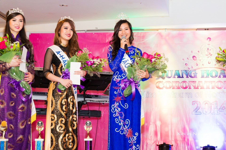Coronation of Miss Vietnam of Northern California 2014 and Court - Image 050