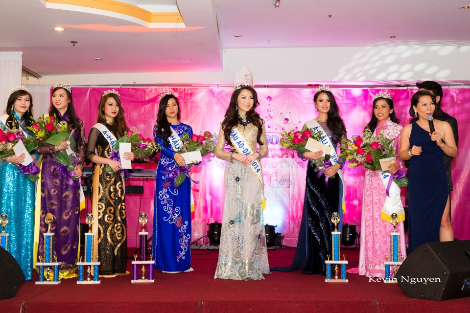 Coronation of Miss Vietnam of Northern California 2014 and Court - Image 052