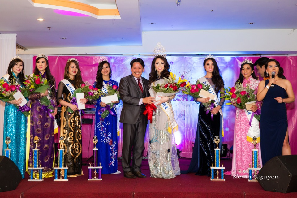 Coronation of Miss Vietnam of Northern California 2014 and Court - Image 054