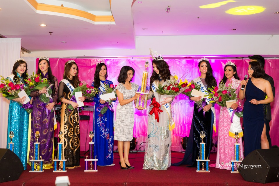 Coronation of Miss Vietnam of Northern California 2014 and Court - Image 055