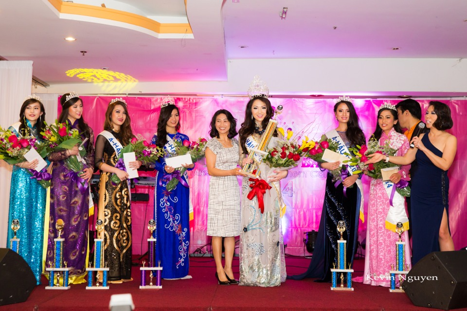 Coronation of Miss Vietnam of Northern California 2014 and Court - Image 056