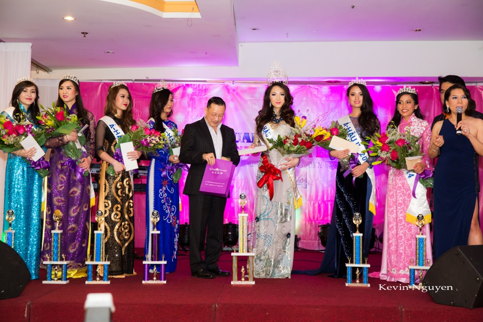 Coronation of Miss Vietnam of Northern California 2014 and Court - Image 058