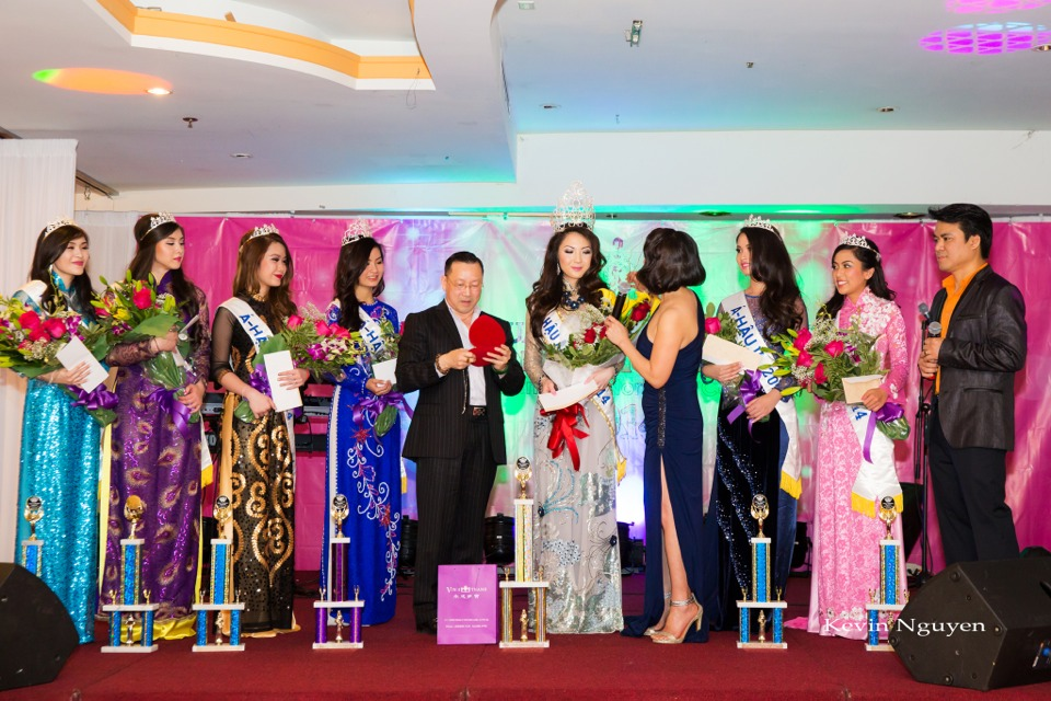 Coronation of Miss Vietnam of Northern California 2014 and Court - Image 059