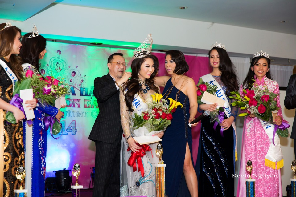 Coronation of Miss Vietnam of Northern California 2014 and Court - Image 060