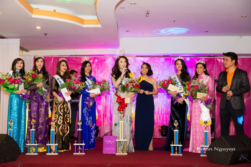 Coronation of Miss Vietnam of Northern California 2014 and Court - Image 061