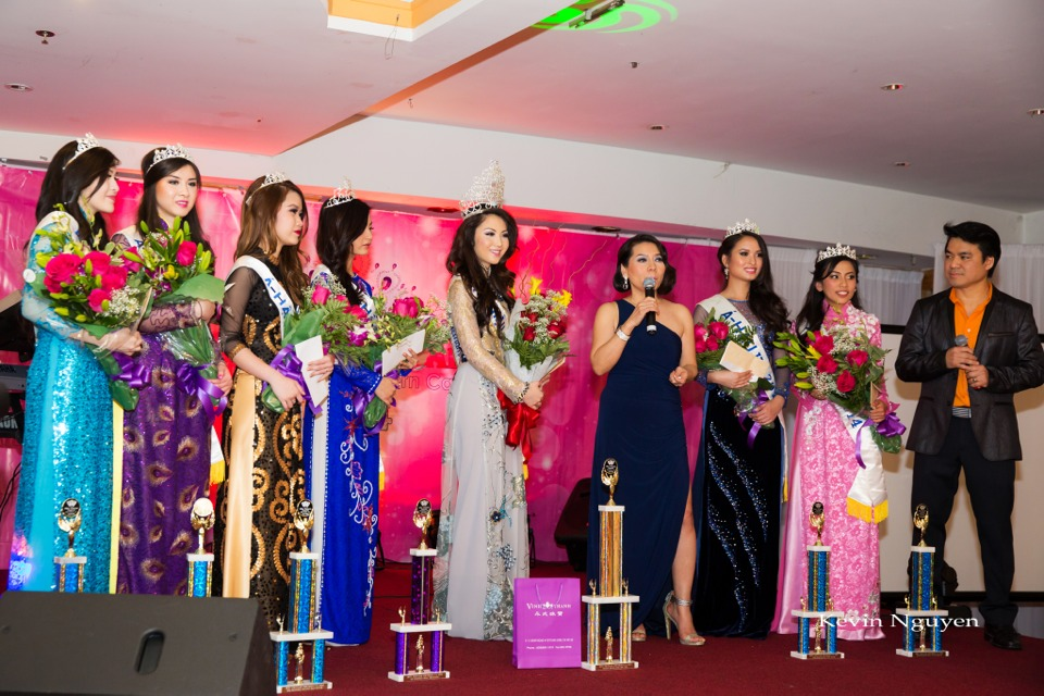 Coronation of Miss Vietnam of Northern California 2014 and Court - Image 063