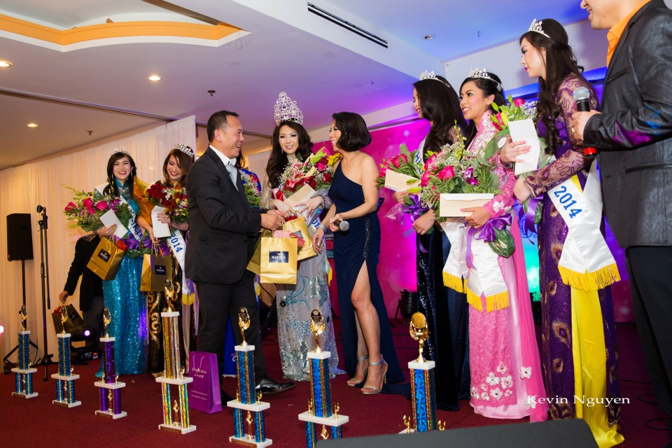 Coronation of Miss Vietnam of Northern California 2014 and Court - Image 068