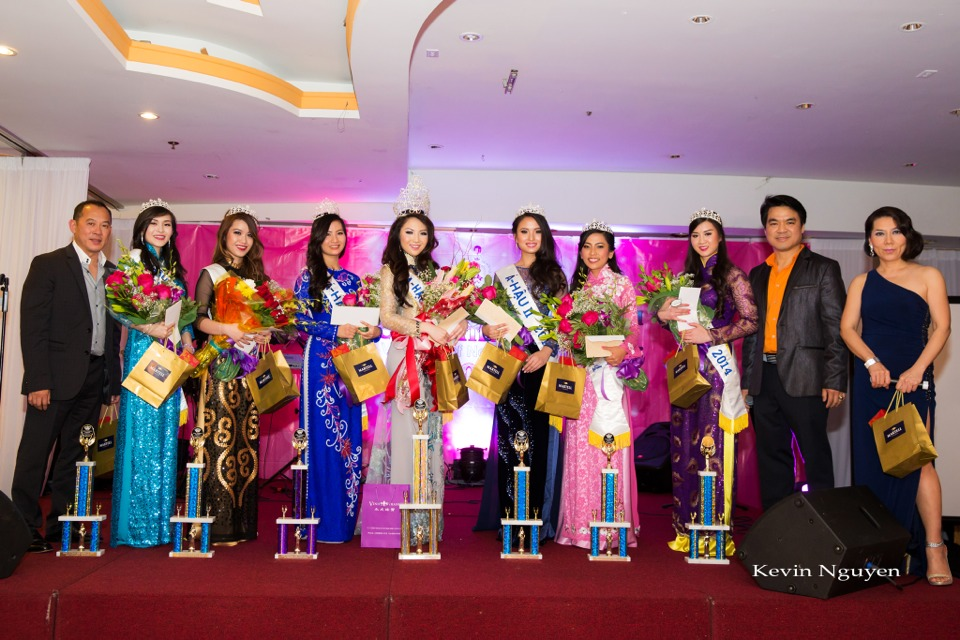 Coronation of Miss Vietnam of Northern California 2014 and Court - Image 069