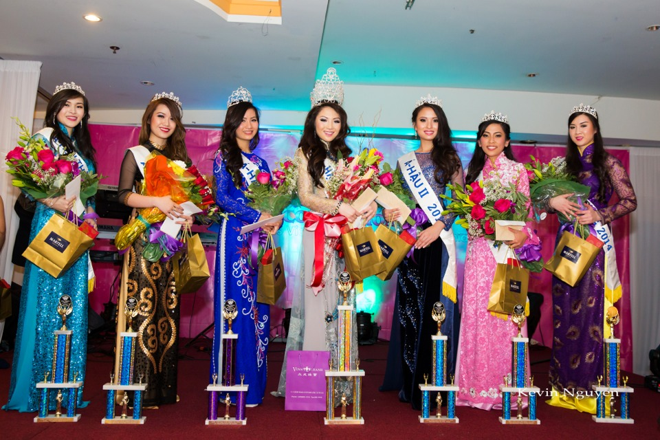 Coronation of Miss Vietnam of Northern California 2014 and Court - Image 070