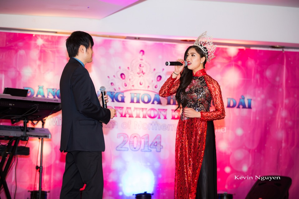 Coronation of Miss Vietnam of Northern California 2014 and Court - Image 089