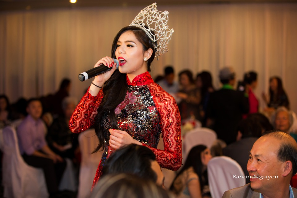 Coronation of Miss Vietnam of Northern California 2014 and Court - Image 090